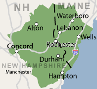 Our New Hampshire and Maine Service Area